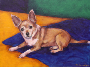 """Coco- Oil Painting - 16""""x20"""""""