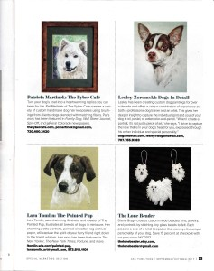 Feature in AKC Family Dog Magazine 1